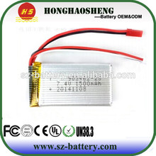 25C 903462 li-ion battery 1500mah rechargeable lipo battery 3.7v 1500mah with RC helicopter