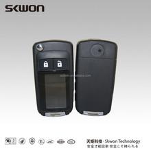 SPIRIO High quality remote head key shell 1 button on side smart key case