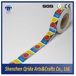 Self adhesive labels cheap stickers