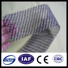 stainless steel knitted wire mesh , filter galvanized knitted wire mesh