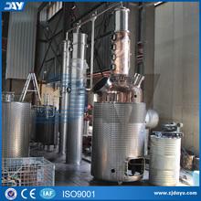 CE approved red copper distiller for whisky Distillation hot sale still equipment