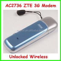 Unlocked ZTE AC2736 USB Modem 3G