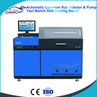 S5 Common Rail Injector Tester And Cleaner Common Rail Diesel Injector Cleaner Test Bench