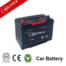 Rechargeable battery for remote 12v 80ah high capacity car batetry