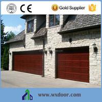Exterior automatic waterproof garage door