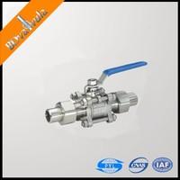 ASTM a105 ball valves pn25 gas ball valve