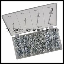 BV Certificatuon Assortment Kit TC 500pc Aluminum Blind Rivet
