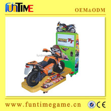 amusement kids motorcycle arcade racing game machine / kids ride on motorcycle