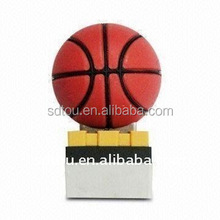 hot-sale new model !NBA promotion,Usb basketball Flash Drives from 1gb to 64gb
