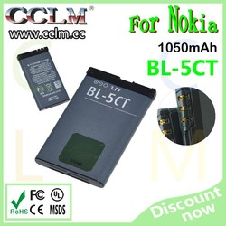 compatible mobile phones battery for nokia bl-5ct
