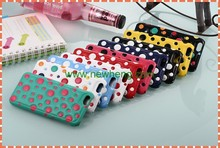 Hot New Fashion dot Leather Back Cover Case For iPhone 6