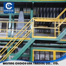 Machine for making bitumen waterproof membrane sheet