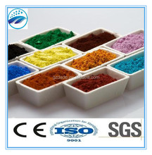 good pigment ferric oxide for concrete and paint industry