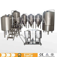 From Milling to Filling Complete 500L Beer Making Machine