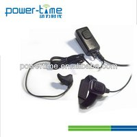 Bone Conduction Ham radio earphone with Finger PTT and PTT box for All brand radio.