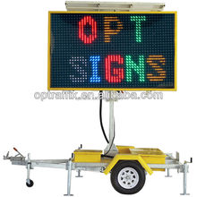 Full Matrix LED Portable Changeable Message Signs West Australia