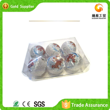 Fast Supplier Produce Imported Christmas Party Ornaments PET Christmas Ball