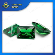 made in China loose rectangle zircons