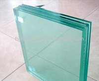 Safety laminated glass price with PVB Safety