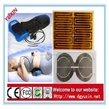 waist massage with FCC,ROSHS,CE,ISO9001,3V-5V PI /PET heating element,film heated