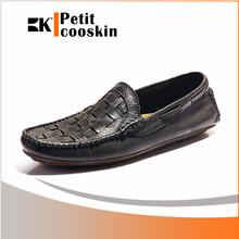 Wholesale leather men casual sport driving men shoes pictures