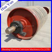 belt conveyor drive drum for heavy transport tool