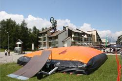 mountain bike air bag Jump Air Bag For Bmx