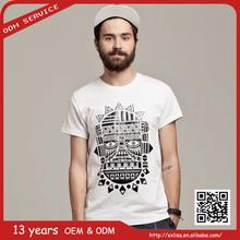 2015 mens fashion famous brand shirt cotton vintage t shirt