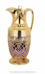 Glass inner vacuum flask plastic kittle Arabic pot water bottle