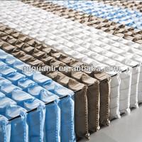 mattress pocket spring unit/pocket spring for sale/bed pocket spring