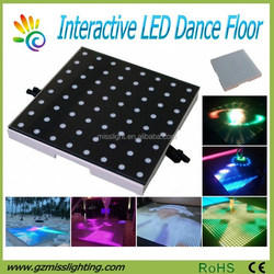 World Top Selling Super Slim Portable Interactive LED dance floor