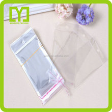 2016 new product custom OPP plastic packing bags with self adhesive