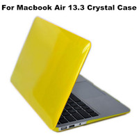 Crystal Hard Plastic Skin Case Cover for Macbook Air 13 Pro 13'' Pro 13 Retina Laptop Protector Shell Wholesale