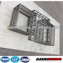 Precision casting heat treatment fixtures