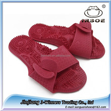 Sandals Shoes Reflex Massage Slippers Acupuncture Foot Healthy Shoe Massager, woman medicated sandals, medicated ladies footwear