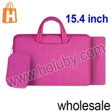 Interlayer Zipper Briefcase Handbag for 15.4 inch MacBook Pro/Air Notebook Laptop