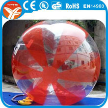 Inflatable clear plastic water ball