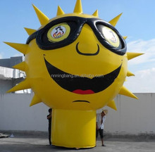 NB-CT1075 creative Inflatable cartoon Type inflatable giant sun shape