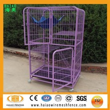 New brand with new desigh factory direct sale welded wire mesh pet cat house cage