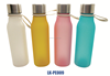 New design easy taking plastic water bottle with stainless steel lid out