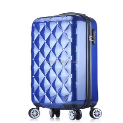 abs pc luggage /carry on luggage/airport trolley suitcase/best sell