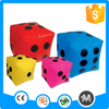 Colorful advertising party toys cheap inflatable dice