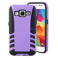 2in1 Hybrid ROCKET Full-Body Dual Layer Shock-Protector Slim Case Cover For Samsung Galaxy Core Prime G360