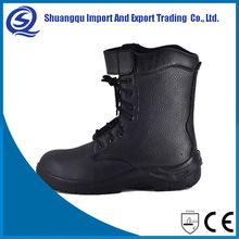 Industry Oil-Proof Abrasion Resistance Comfort Steel Toe And Plate Work Boots