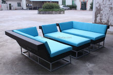 outside patio furniture sectional wicker sofa MY1147