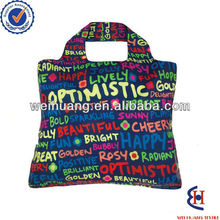 fashion and popular polyester shopping tote bag