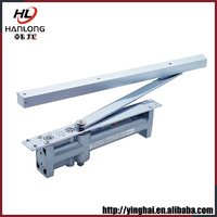 Classic stainless cabinet door closer
