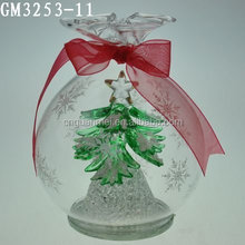 popular hotsell hanging christmas decorative glass ball