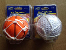 new 2015 air freshener ball with basketball sports and baseballm sports