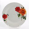 ceramic french decorative plates , ceramic fruit dish